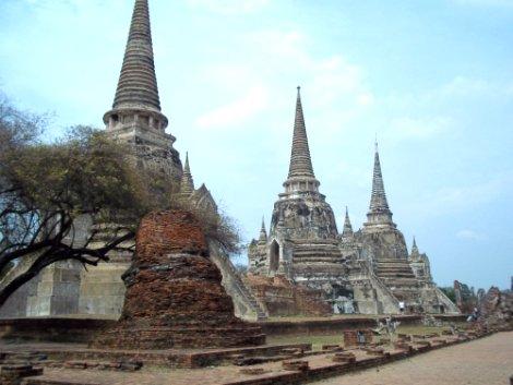 Wat Phra Si Samphet in Ayutthaya