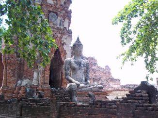 Wat Maha Tat in Ayutthaya Historical Park