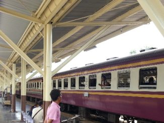 Train 171 from Bangkok to Sungai Kolok is still operating