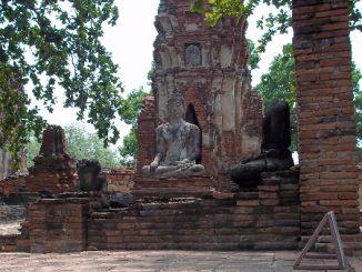 Wat Mahatat in Ayutthaya