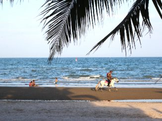 Hua Hin Beach is 5 km long