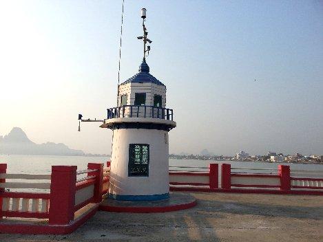 Lighthouse in Prachuap Khiri Khan