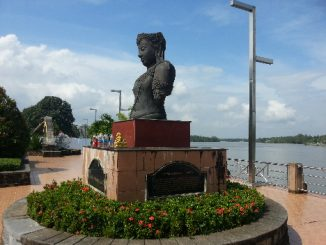 Riverside in Surat Thani City