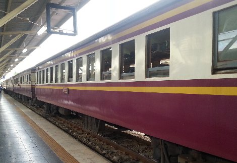 Train #83 to Trang via Surat Thani is back in service