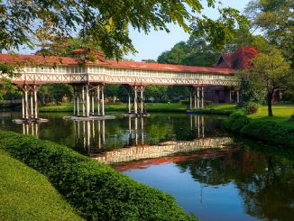 The Sanam Chan Palace is one of two major tourists attractions in Nakhon Pathom